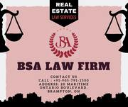 Best Real Estate Lawyer Mississauga | BSA Law Firm